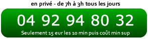 Accès direct par téléphone à la voyance au 04 92 94 80 32 - 15eu/10min puis cout min sup